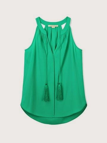 Cooper Ella-Layla-Tassel-blouse-jade-green