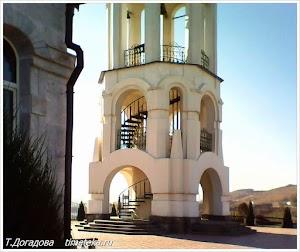 Колокольня. Свято-Георгиевский монастырь, Северный Кавказ.