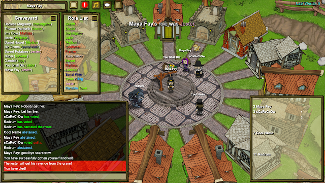 Town of Salem - First victory as jester