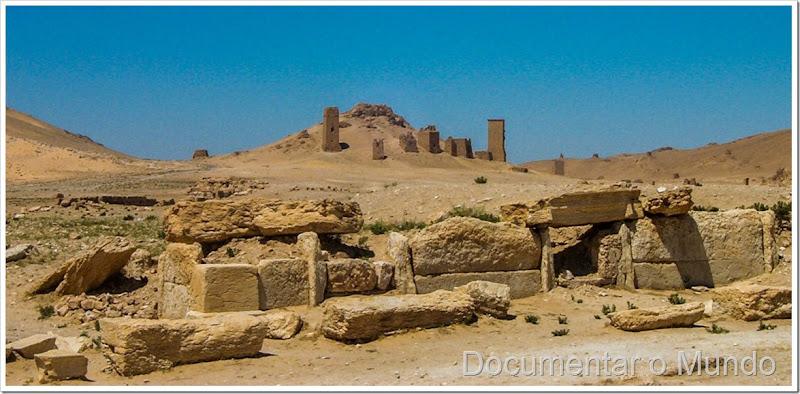 Túmulos em Palmira