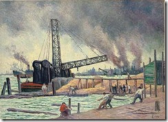 Maximilien-Luce-The-port-of-Rotterdam-2