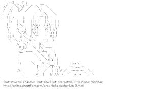 [AA]Nakagawa Natsuki (Hibike! Euphonium)