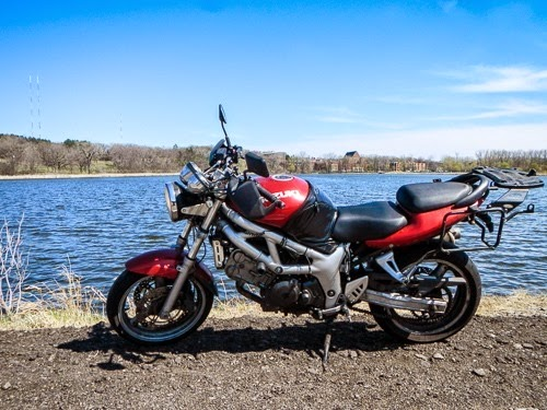 Motorcycling Lakes