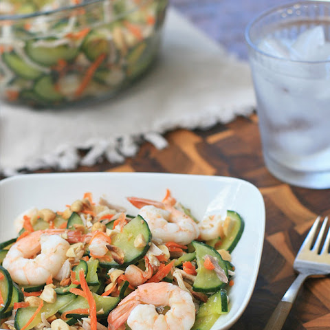 Goi Dua Chuot- Cucumber and Shrimp Salad