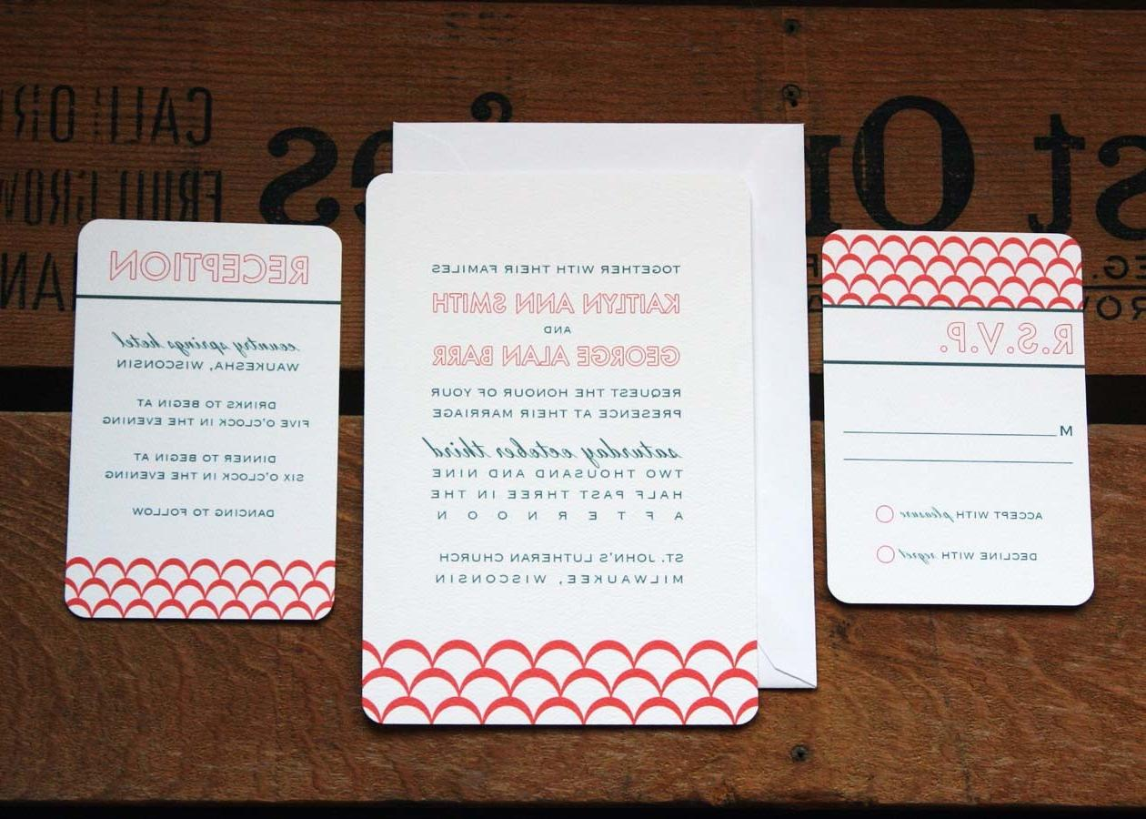 Clementine Wedding Invitation