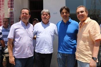 Carlson Gomes, Tomba, Felipe Maia e José Agripino