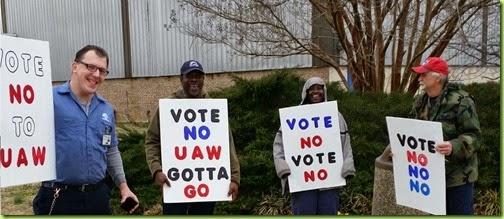 uaw vote no