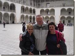 Wawel, Kathedrale, Abschiedsessen in Krakau 009