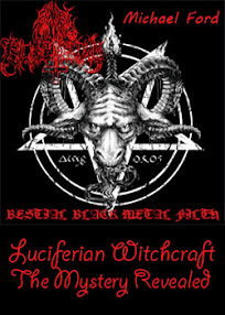 Cover of Michael Ford's Book Luciferian Witchcraft The Mystery Revealed