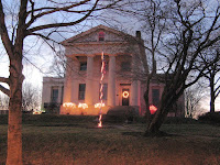 Hervey Ely House in holiday finery