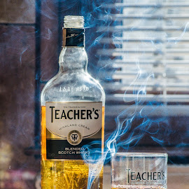 Today by Adrian Stefan - Food & Drink Alcohol & Drinks ( smoke photography, hot, sunrise )