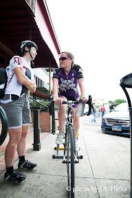 Chatting w Liz - TSU Race Weekend - Apr 2013 - By Jim Hicks