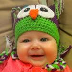 Aunt Shannon's owl hat