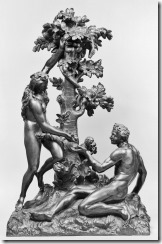 Giovanni Battista Foggini (?). 'The Fall of Man,' ca. 1650-1700. bronze. Walters Art Museum (54.676): Acquired by Henry Walters, 1903.