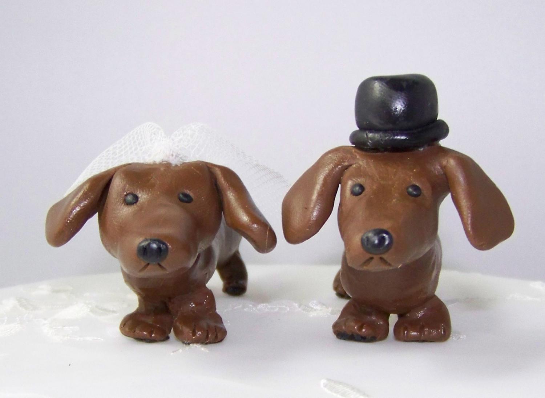 Cute Dachshund Lovers Wedding