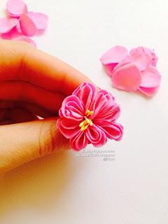 Роза из фоамирана. Мастер-класс. (Английская садовая роза)