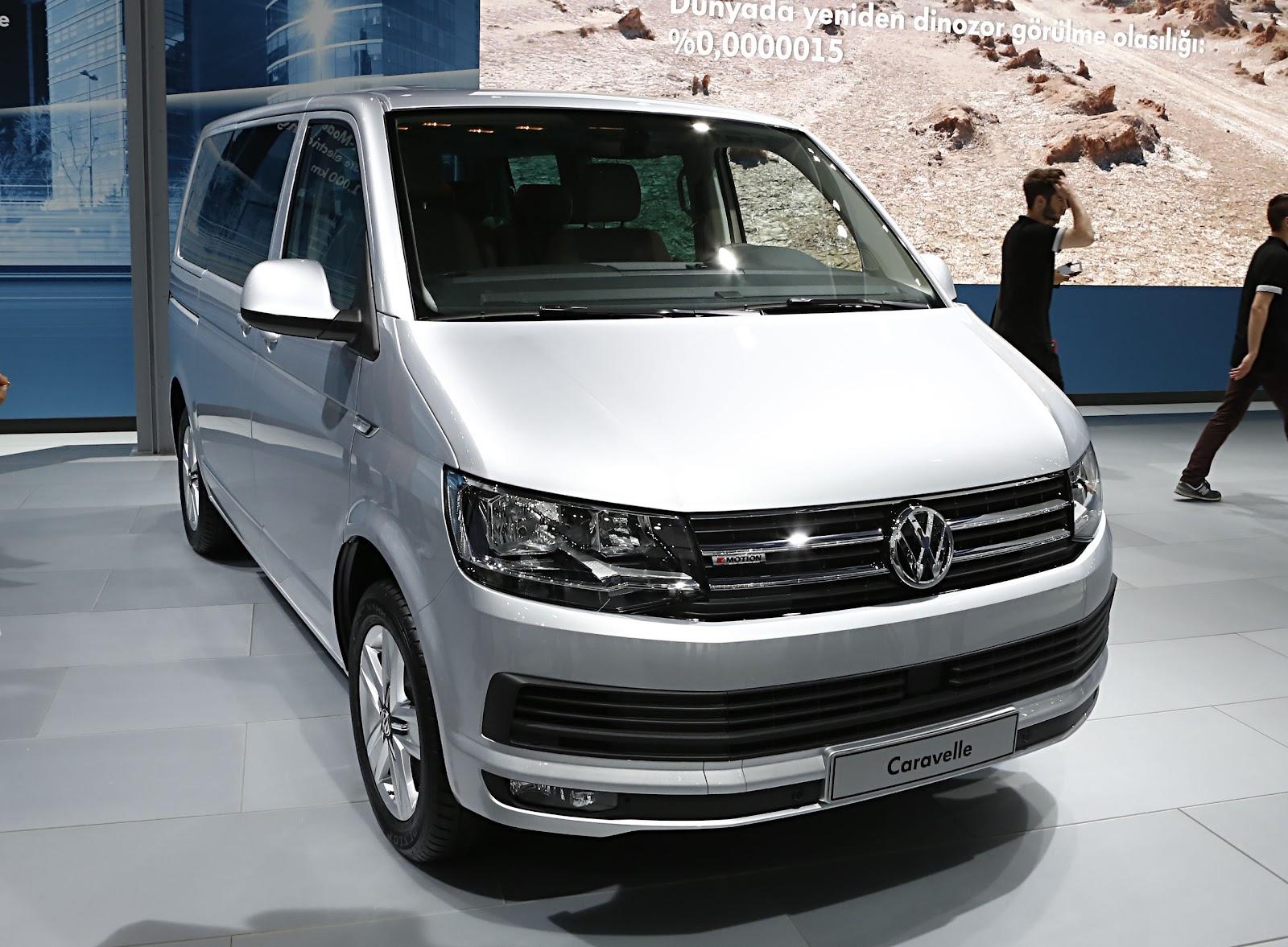 yeni vw transporter & caravelle türkiye'de - fiyat, donanım