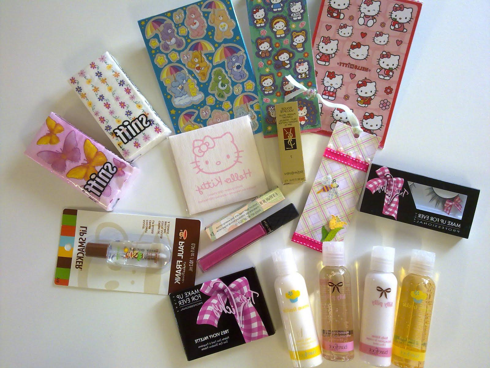 Hello Kitty and Care Bear