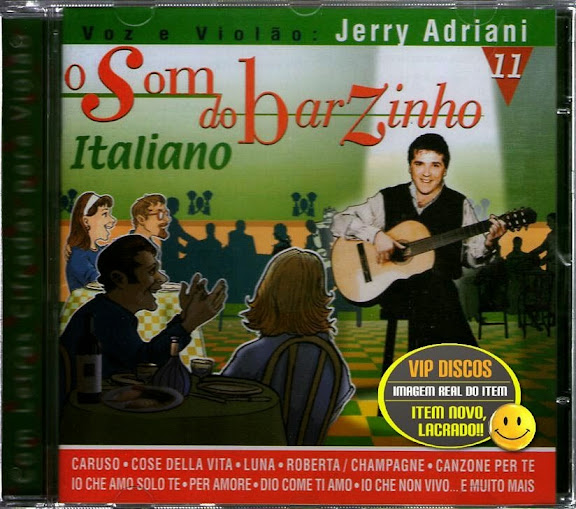 Download   CD Jerry Adriani – O Som do Barzinho: Italiano