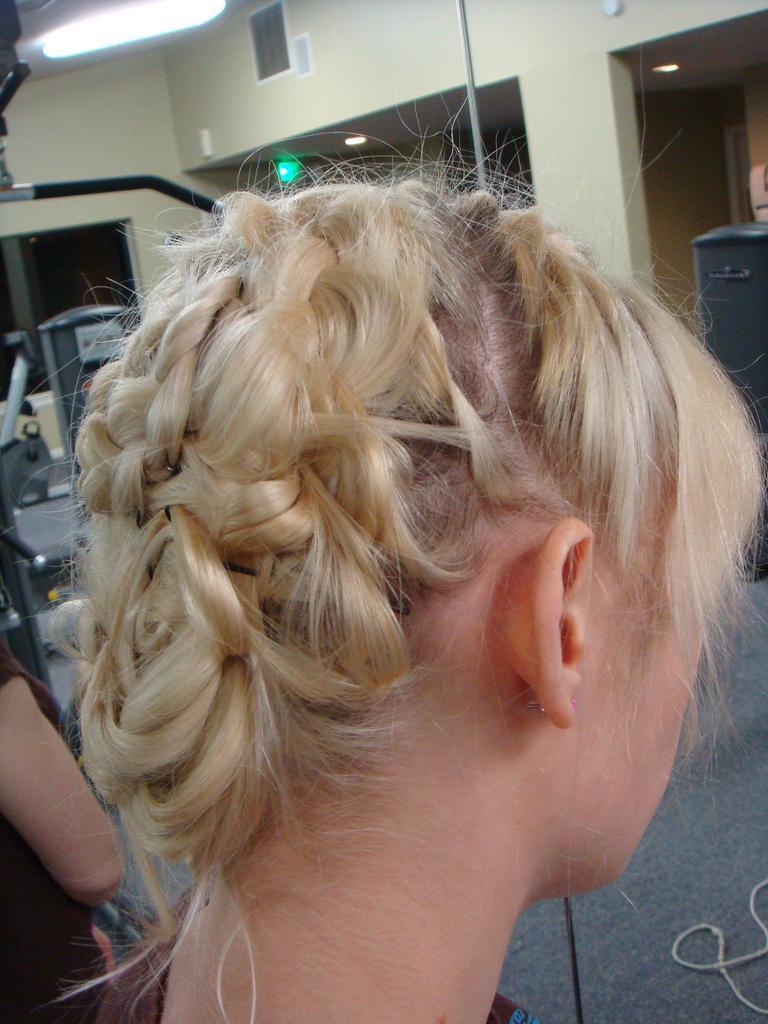 Shooting range hairstyles