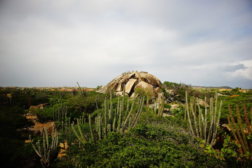Casibari rock formations in Aruba