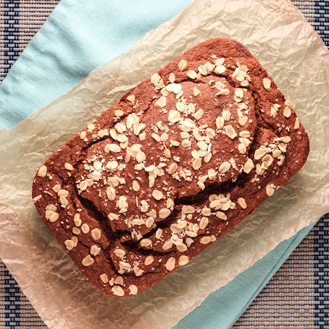 Oatmeal Molasses Quick Bread