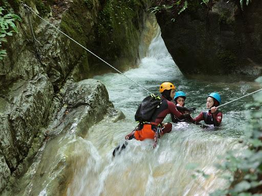 Canyon du Ternèze; un aqualand naturel à 20 minutes de Chambéry, massif des bauges