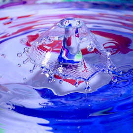 Water Drop Art  by Liana Lputyan - Abstract Water Drops & Splashes ( water drop art colors )