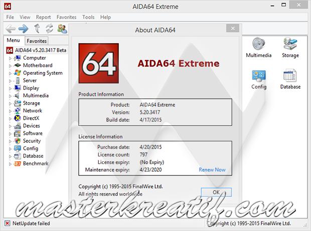 AIDA64 Extreme 5.20