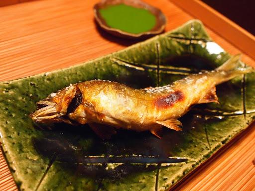 [写真]鮎の塩焼き