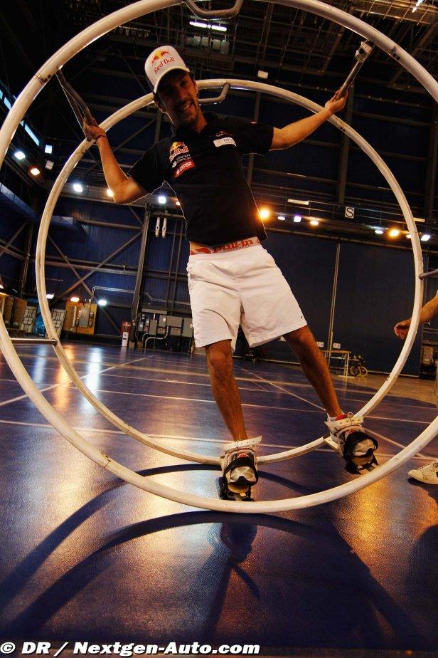 Жан-Эрик Вернь в круге в Монреале перед Гран-при Канады 2012