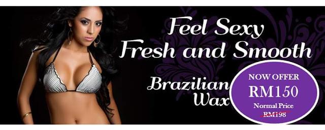 Brazilian Waxing Perkhidmatan Buang Bulu Badan Secara Lembut dan Efektif