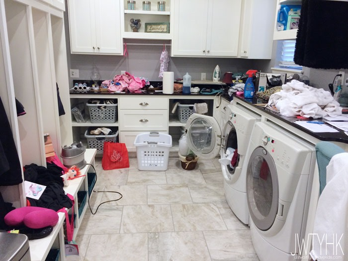 Just Wait til You have Kids | Real Life Laundry Room