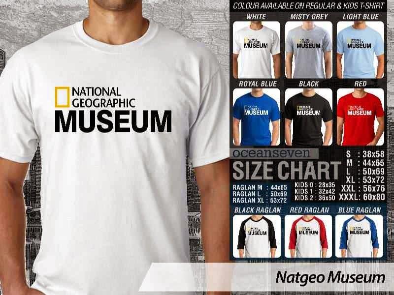 Kaos National Geographic NatGeo Museum distro ocean seven