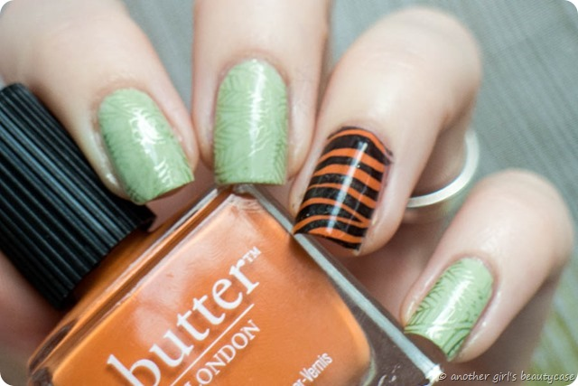 Challenge Jungle Tiger Stamping Moyou_