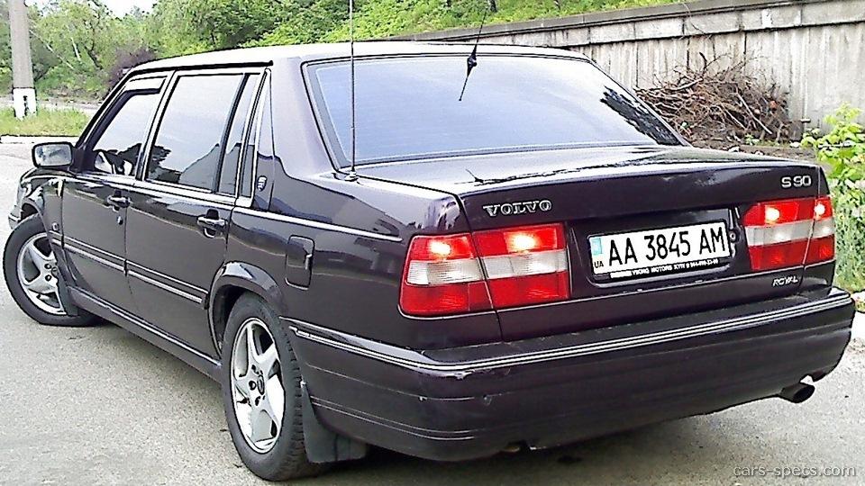 1998 Volvo S90 Sedan Specifications  Pictures  Prices