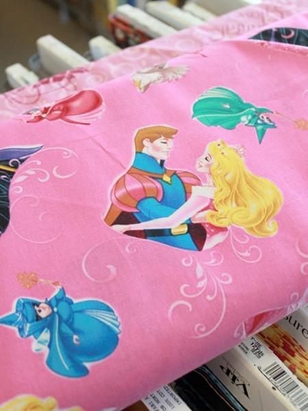Disney Princess fabric 2