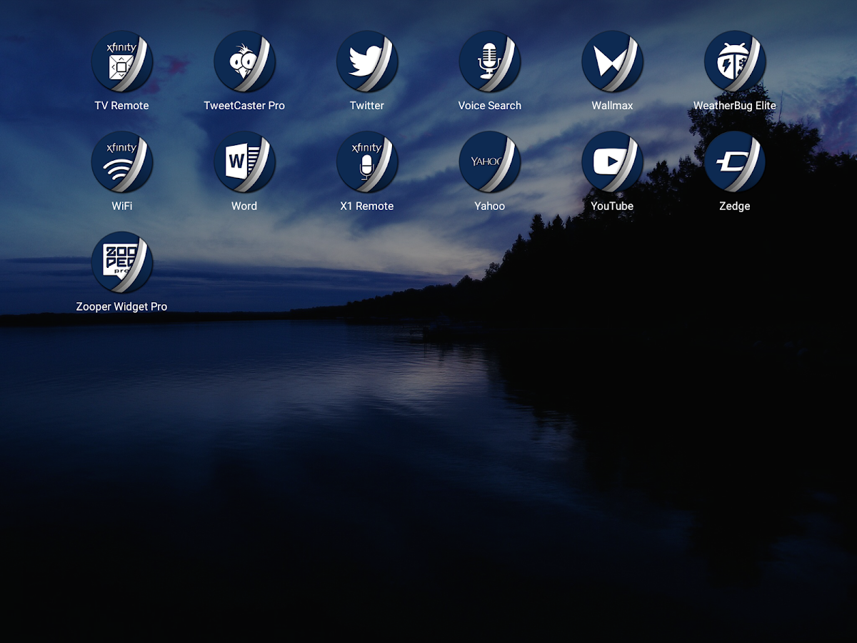 Naz Dal Blue - Icon Pack Screenshot 11