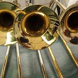 Les trombones au repos