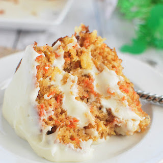 Carrot Cake with Buttermilk Glaze