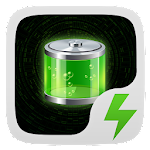 Green Light Battery Widget Icon