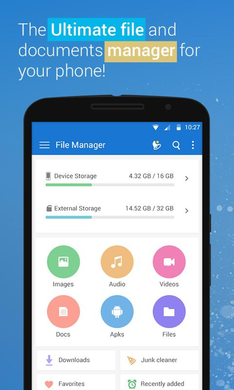 File Manager - File explorer Screenshot 0