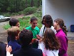 Scouts haciendo un juego