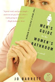 Cover of Jo Barrett's Book The Men Guide To The Women Bathroom