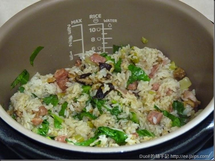 簡易版上海菜飯