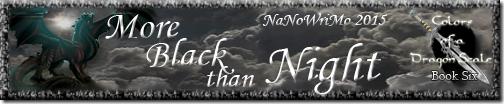 More Black than Night Signature