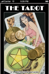 Cover of Samuel Liddell MacGregor Mathers's Book The Tarot