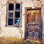 Number one by Opreanu Roberto Sorin - Buildings & Architecture Decaying & Abandoned ( country, color, exterior, rural, shutters, house, summer, building, cracked, rustic, gray, plants, forgotten, wood, architecture, plaster, roof, flowers, glass, green, historic, living, old, weathered, heaven, home, stone, traditional, wooden, derelict, garden, front, time, window, wall, landscape, frame )