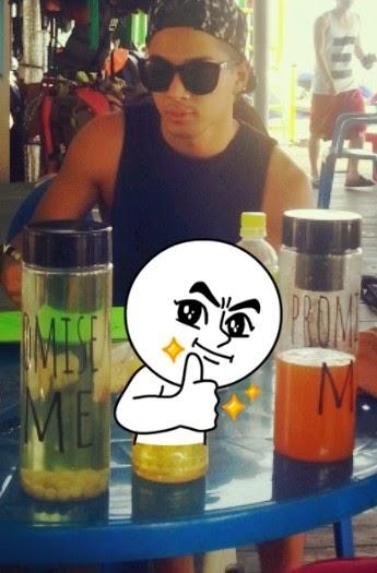 Taeyang-promise me bottle