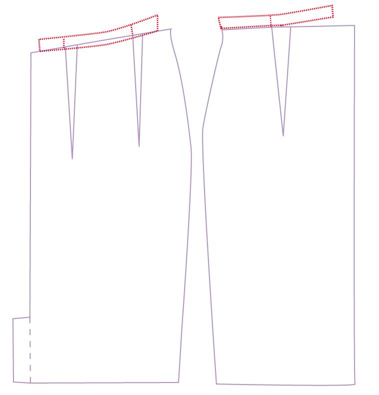 Сшить юбку карандаш без пояса своими руками для начинающих 45